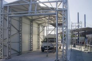 140520 Obras en la frontera de Gibraltar
