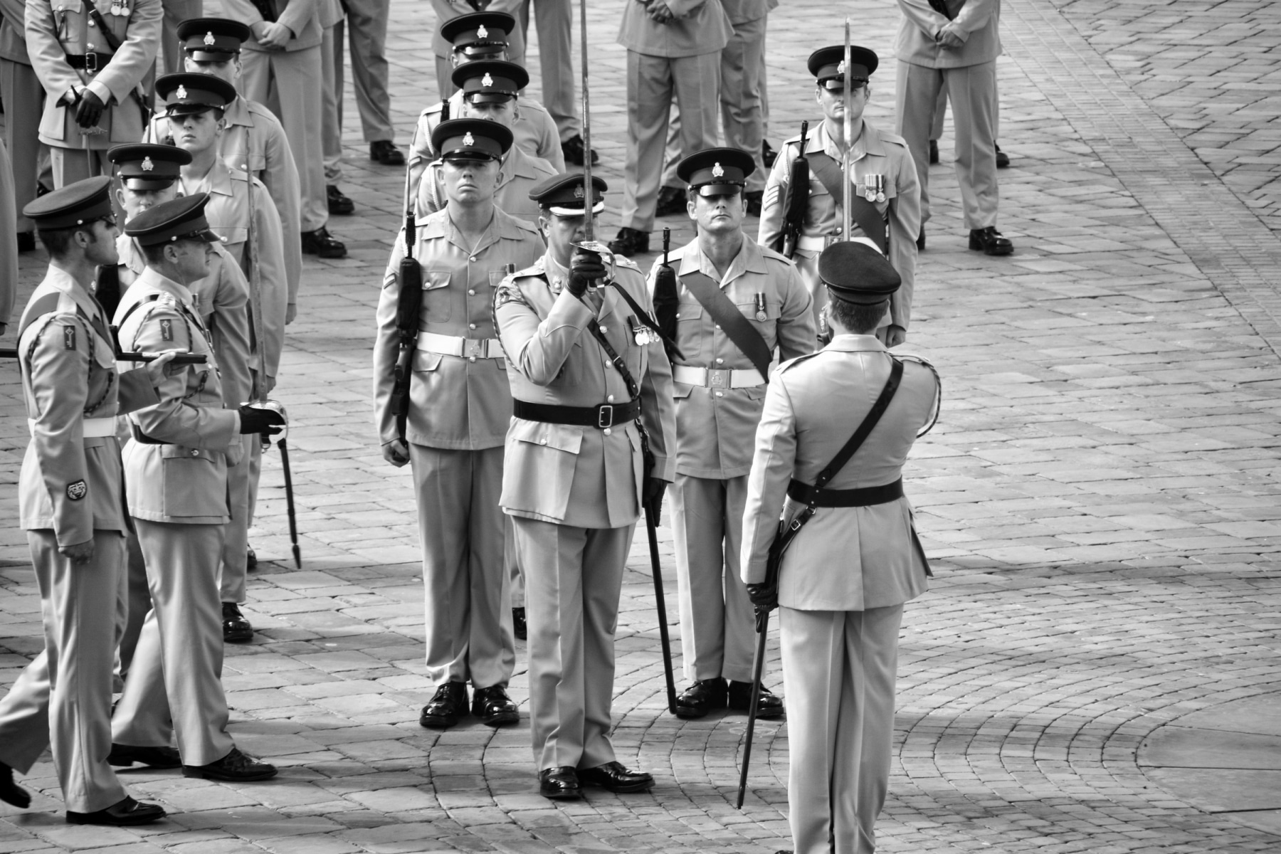 regiment-freedom-of-city-0240-bw_15253257470_o