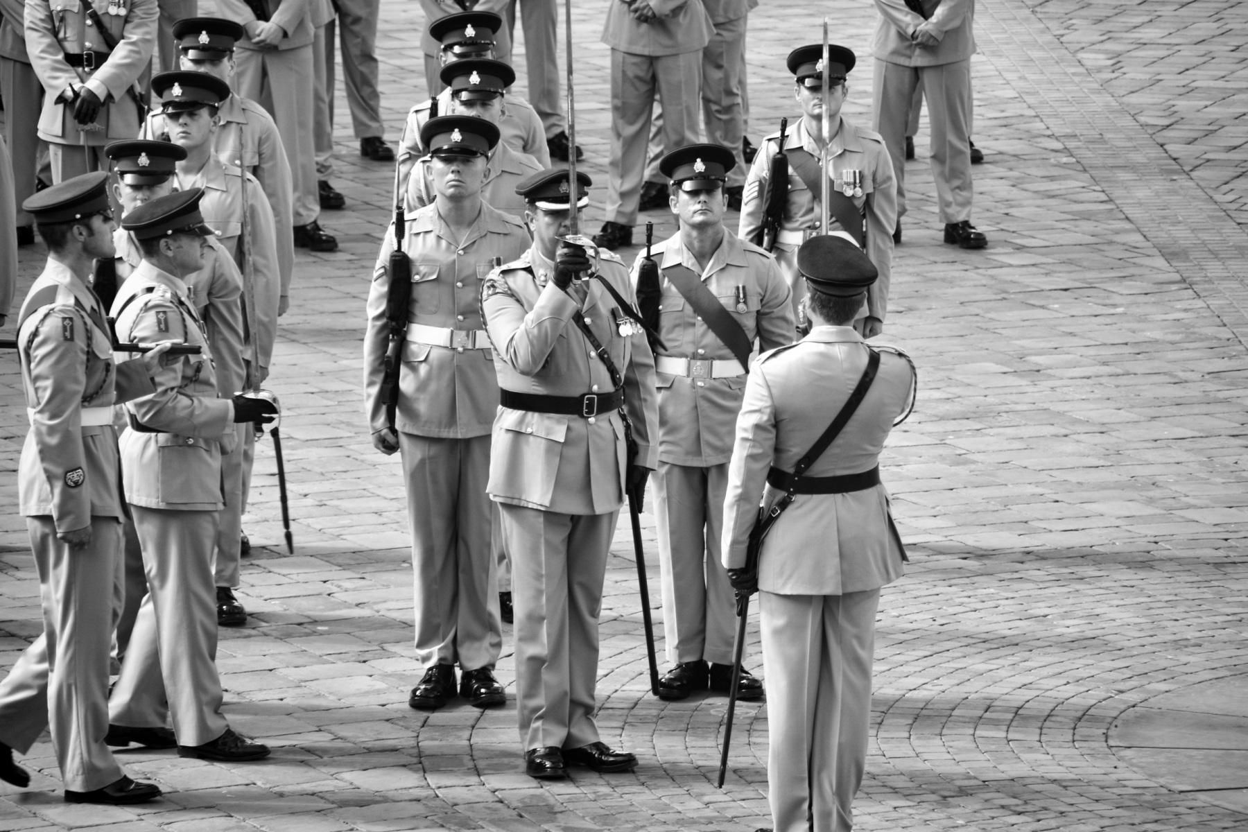 regiment-freedom-of-city-0240-bw_15253257470_o