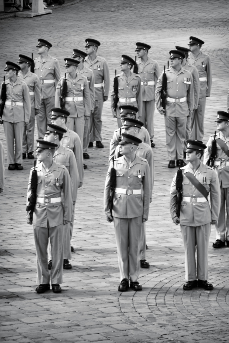 regiment-freedom-of-city-0261-bw_15439620162_o