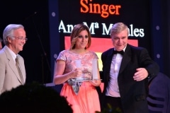 Gibraltar - 9th May 2015 - Mo Anton took the first prize at the V Gibraltar Song Festival held at the Tercentennary Sports Hall in Gibraltar.Fourteen singers competed in the final from across the world following over 700 entries. Among the singers were Greeks, French, Israeli, Spanish, Irish and Gibraltarian singers,