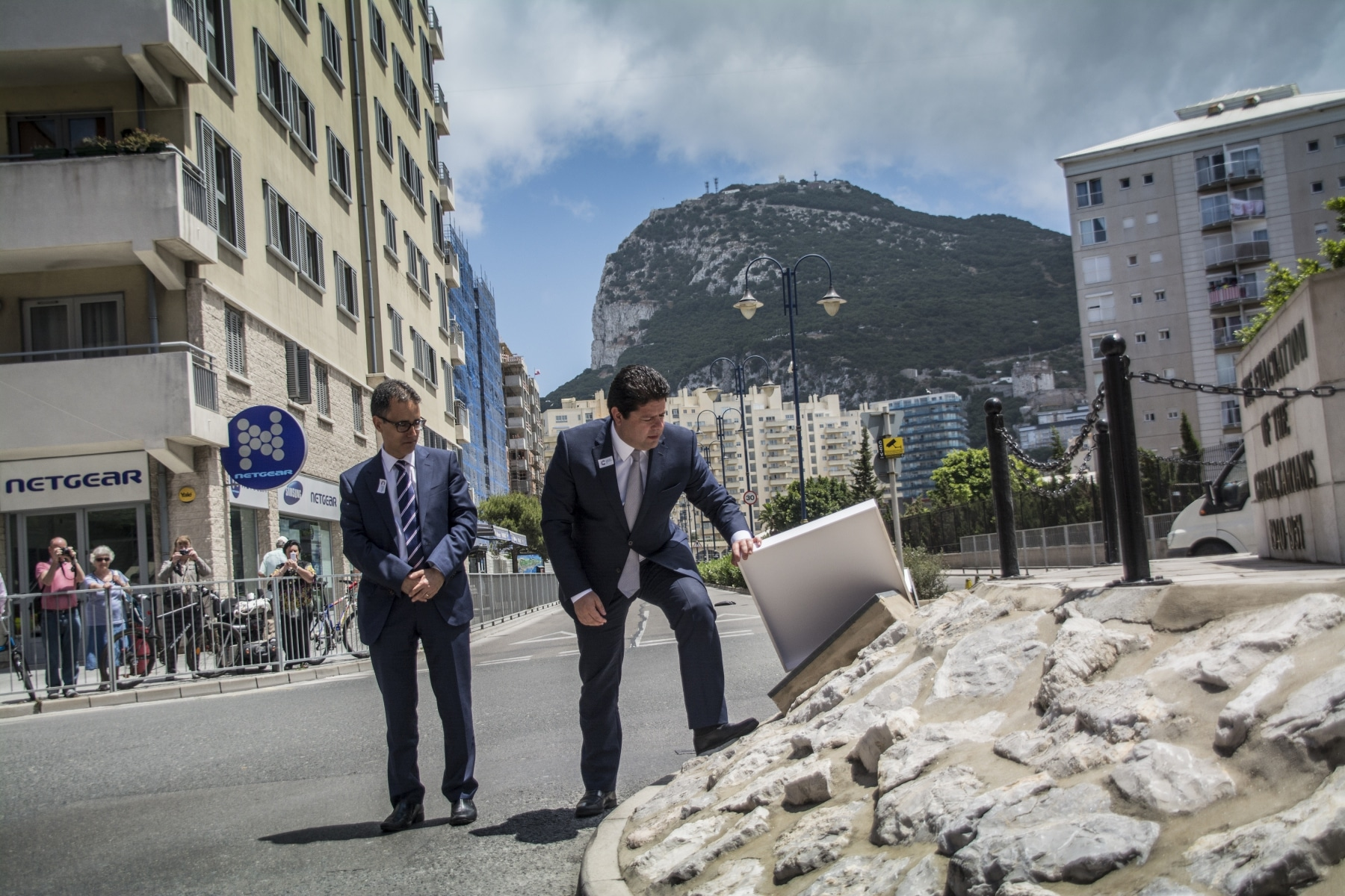 Gibraltar celebrates 75 years since Evacuation