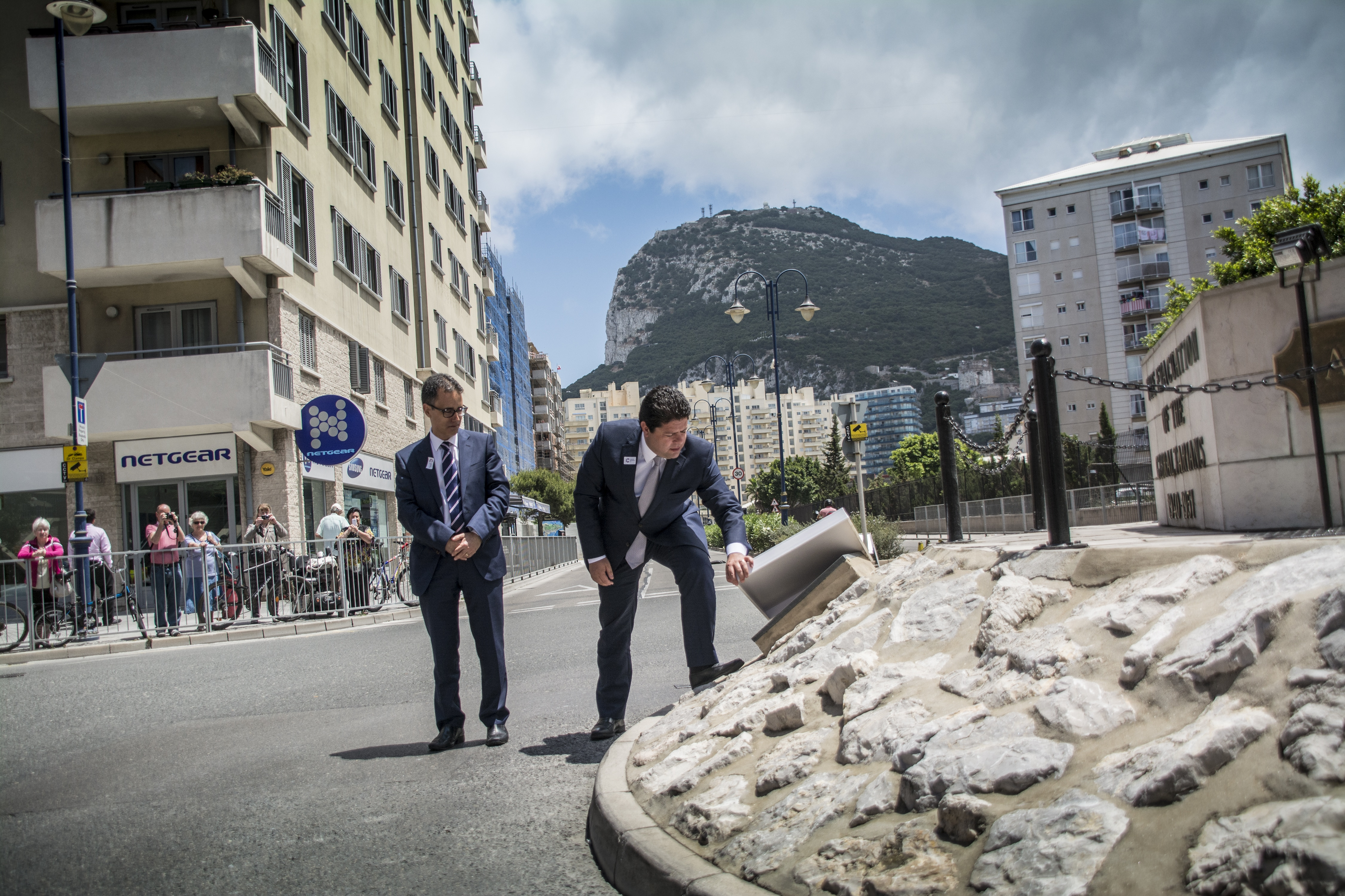 Gibraltar celebrates 75 years since Evacuation