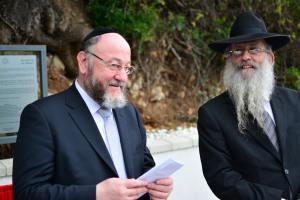 150531 Reapertura del cementerio hebreo de Jew's Gate