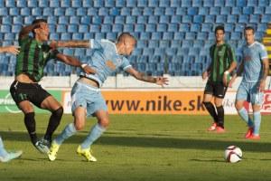 150709 Fútbol Europa League SK Slovan Bratislava - Europa FC Gibraltar (3-0)