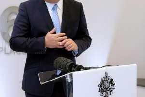 150901 Visita del Alcalde de San Roque, Juan Carlos Ruiz Boix, al Gobierno de Gibraltar