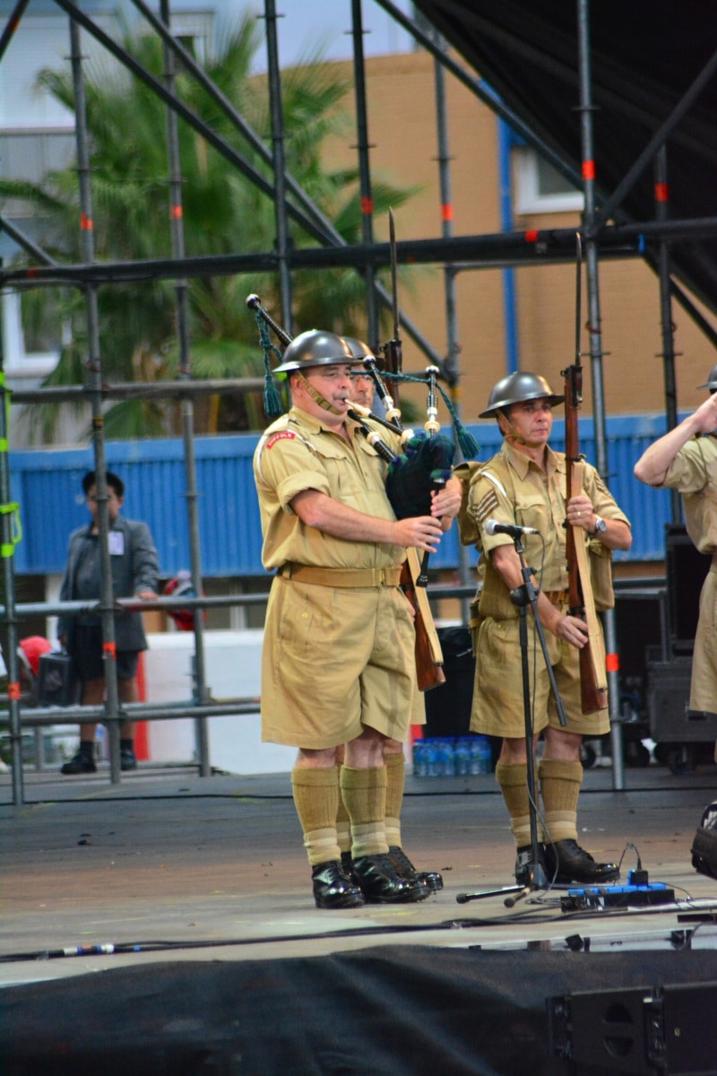 Gibraltar - 7th September 2015 - Gibraltar celebrated its first official Evacuation Commemoration Day with a concert hosted by the government of Gibraltar for some 800 evacuee survivors from the Second World War. The concert was held at the Victoria Stadium using the same stages and facilities used the day earlier by the Gibraltar Music Festival.Evacuation Commemoration Day was officially introduced earlier this year after Gibraltar celebrated 75 years since the whole of the Gibraltar population was evacuated during the second World War. Many of the Gibraltarians were taken to London where some died during the London blitz. Whilst most stayed in London, others were taken to Northern Ireland, Madiera and Jamacia. It was only a confrontation between population leaders that Gibraltarians were allowed back on the Rock after British officials had initially refused to return the population back to its rightful home.