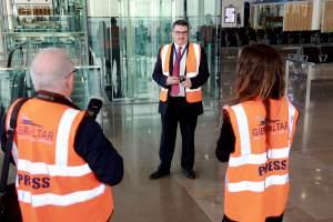 160209 Simulacro de incidente en el aeropuerto de Gibraltar