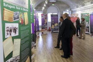 160217 Exposición Gibraltar y la Guerra Civil Española