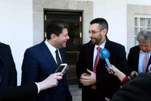 160309 Visita del Alcalde de La Línea, Juan Franco, al Gobierno de Gibraltar