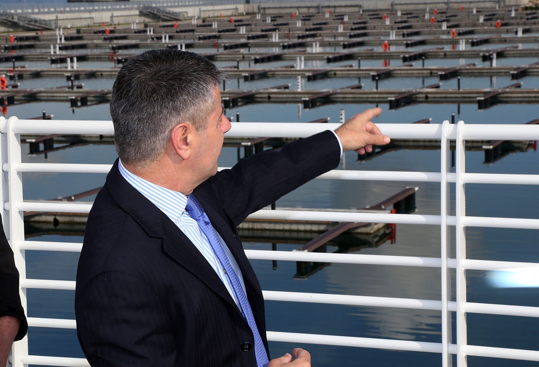 160421 - Inauguración de la nueva marina en Gibraltar para barcos pequeños