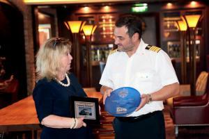 160508 Escala inaugural del crucero 'Ovation of the Seas'