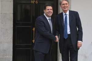 160511 Visita del Secretario de Exteriores británico Philip Hammond
