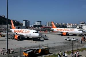 160703 easyJet inaugura la ruta Gibraltar-Manchester