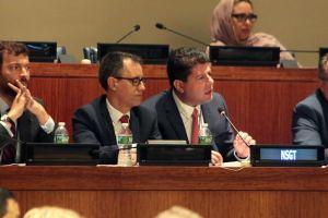 16104 Discurso del Ministro Principal en la Cuarta Comisión de la ONU