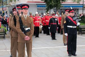 170520 Desfile del Regimiento Royal Anglian - Libertad de la Ciudad