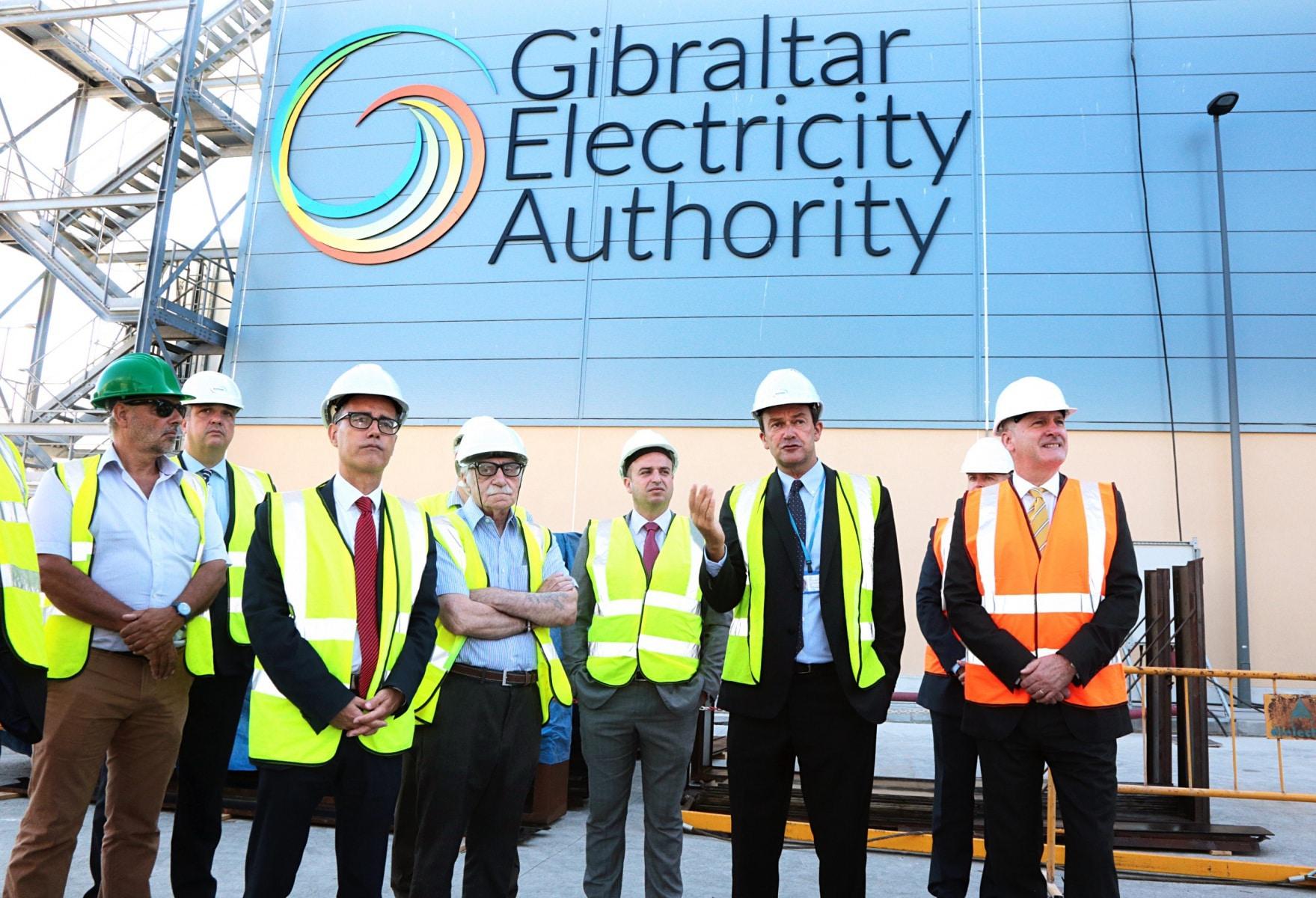 180731 - Visita a la nueva central eléctrica y planta de GNL