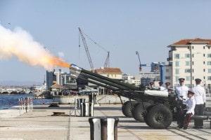 180904 Cambio de mando de las Fuerza Armadas Británicas en Gibraltar