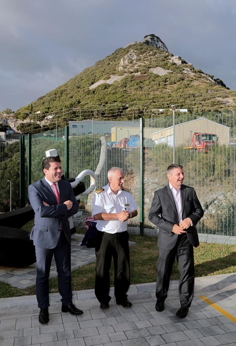 181016 - Gibraltar inaugura las nuevas oficinas del Puerto