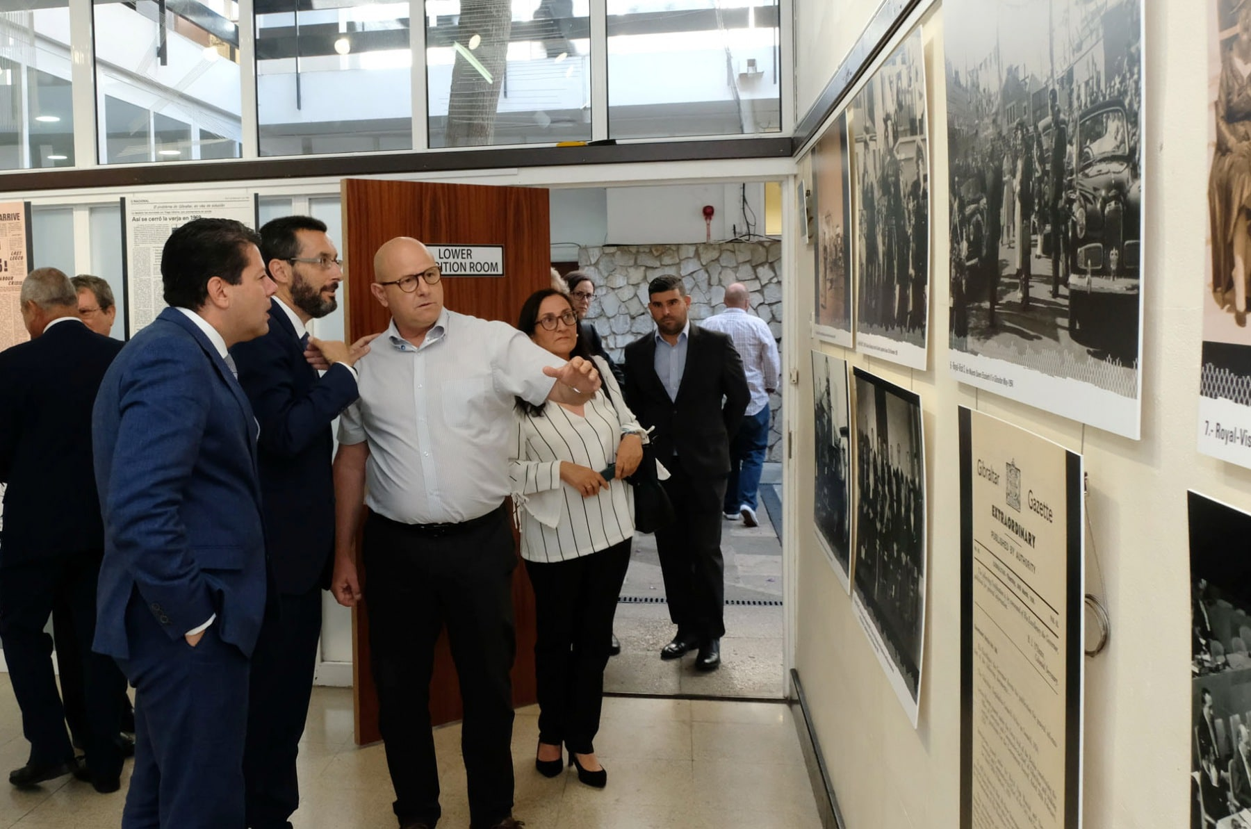 CM & Franco Visit Frontier Exhibition 060619 { seq} ( Photo John Bugeja) at the JMHall