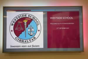 190927 Inauguración del nuevo Colegio Westside