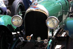 191001 Visita de australianos en Bentleys vintage camino de Marruecos