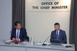 200824 Rueda de prensa dimisión del ministro Gilbert Licudi