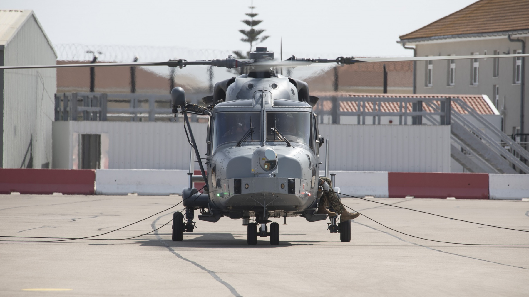 Royal Marines Abseiling at RAF Gibraltar
