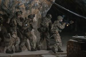 201113 Royal Marines del Comando 43 durante ejercicio en Gibraltar