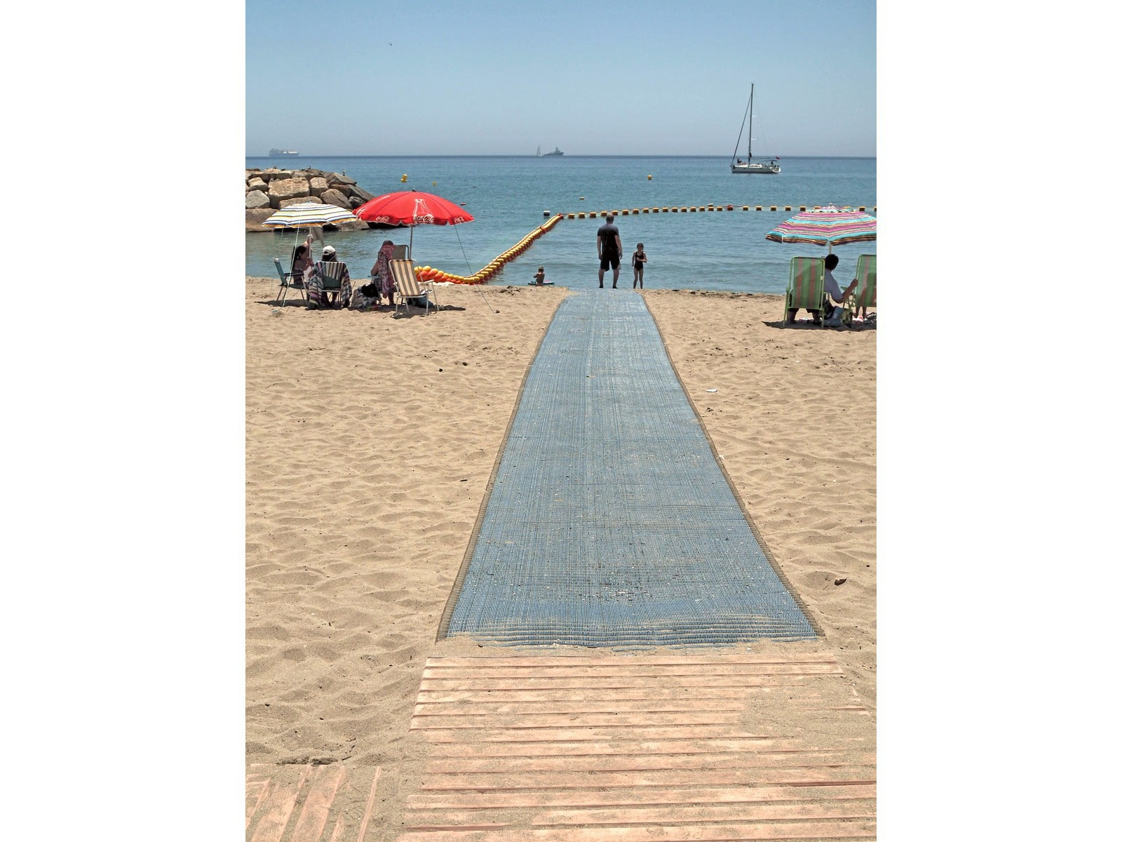 Accesibilidad a las playas de Gibraltar