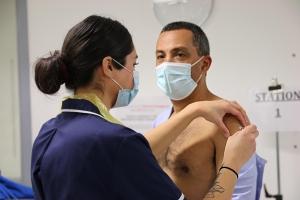 Vacunación contra el Covid-19 en Gibraltar