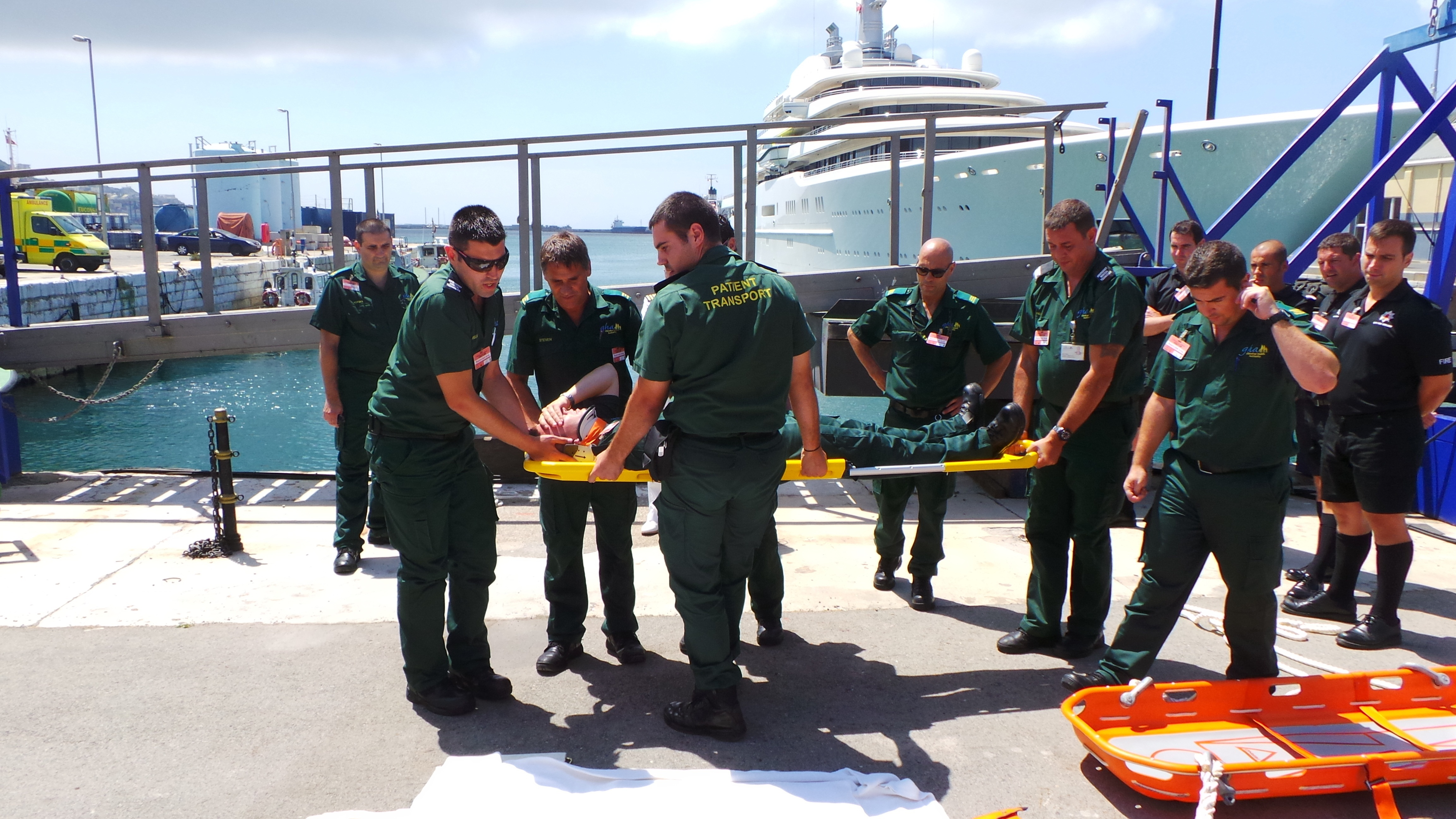 Ambulance course at port1.jpg
