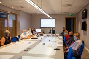 Reunión del Grupo Estratégico del Brexit en Gibraltar