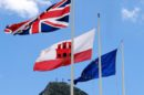 Banderas UE, RU y Gibraltar