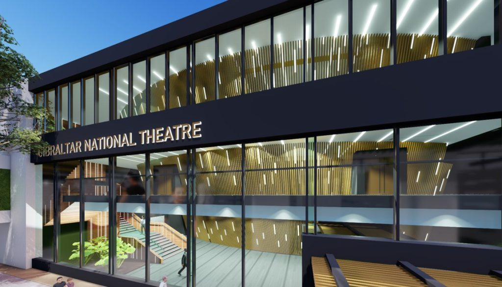 """Nuevo """"Teatro Nacional y Centro Cultural"""" en el complejo John Mackintosh Hall"""